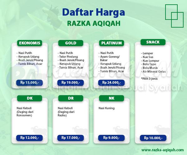 daftar harga paket aqiqah karawaci